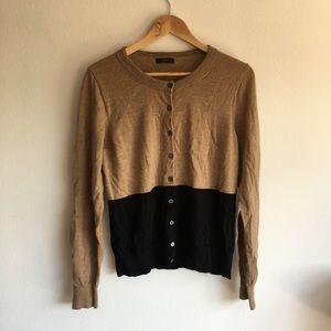 Jcrew 100%merino wool button down sweater cardigan